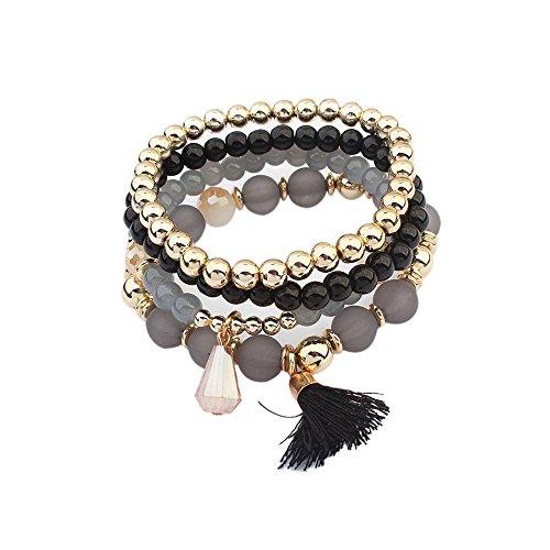 Edler Schmuck Ausdrucksvoll Neue Stil Europäischen Mode 925 Klassische Silber Charme Armband Mit Glas Perlen Armbänder Für Frauen Original Diy Schmuck Geschenk