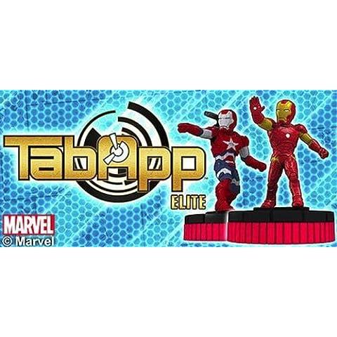 Marvel Heroclix Iron Man 3 TabApp Elite Starter - Muñecos de acción (compatibles con iPad), diseño de Iron Man