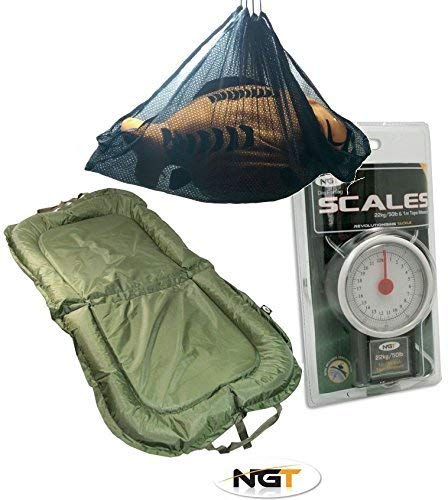 NGT Beanie Unhooking Mat Weigh Scales & Sling