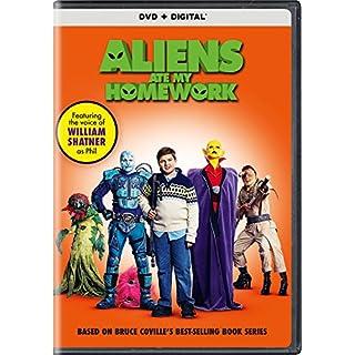 ALIENS ATE MY HOMEWORK - ALIENS ATE MY HOMEWORK (1 DVD)
