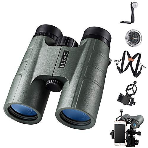 10X42 Ferngläser Niedleichter Nachtsichtgerät Teleskop-Handy-Kamera-Brille für Target Bird Watching Jagd Wildlife Scenery - Mount Smartphone-spotting Scope