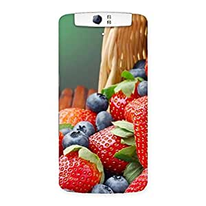 Delicious Straberry Back Case Cover for Oppo N1