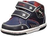 Geox Baby Jungen B Flick Boy D Sneaker, Blau (NAVY/REDC0735), 23 EU