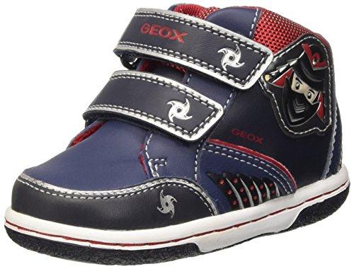 Geox Baby Jungen B Flick Boy D Sneaker, Blau (Navy/REDC0735), 21 EU