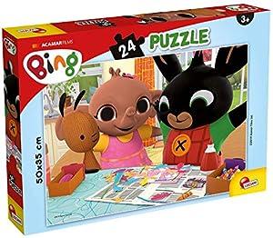 Lisciani Giochi - Puzzle Plus 24 Bing Divertiamoci Juego para niños, 77984