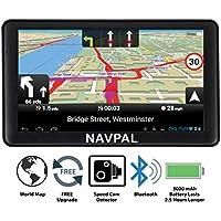 Navval - Navegación GPS de 7 Pulgadas con WiFi 4G para Coche, camión, Autocaravana