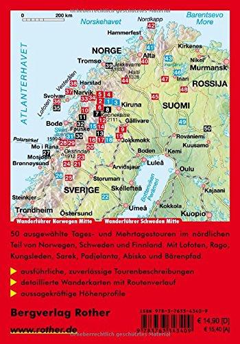 Rother Wanderführer: Lappland. Schweden, Finnland und Norwegen mit Lofoten und Vesterålen. 50 Touren: Alle Infos bei Amazon