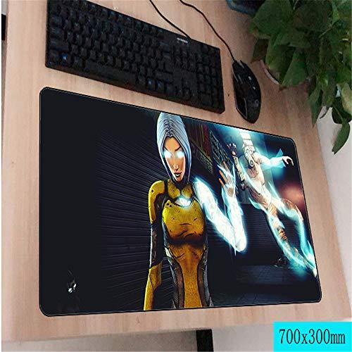 Mausunterlage Qualitätsspielmausunterlageart und weisecomputertastaturunterlage 3 800X300X2MM