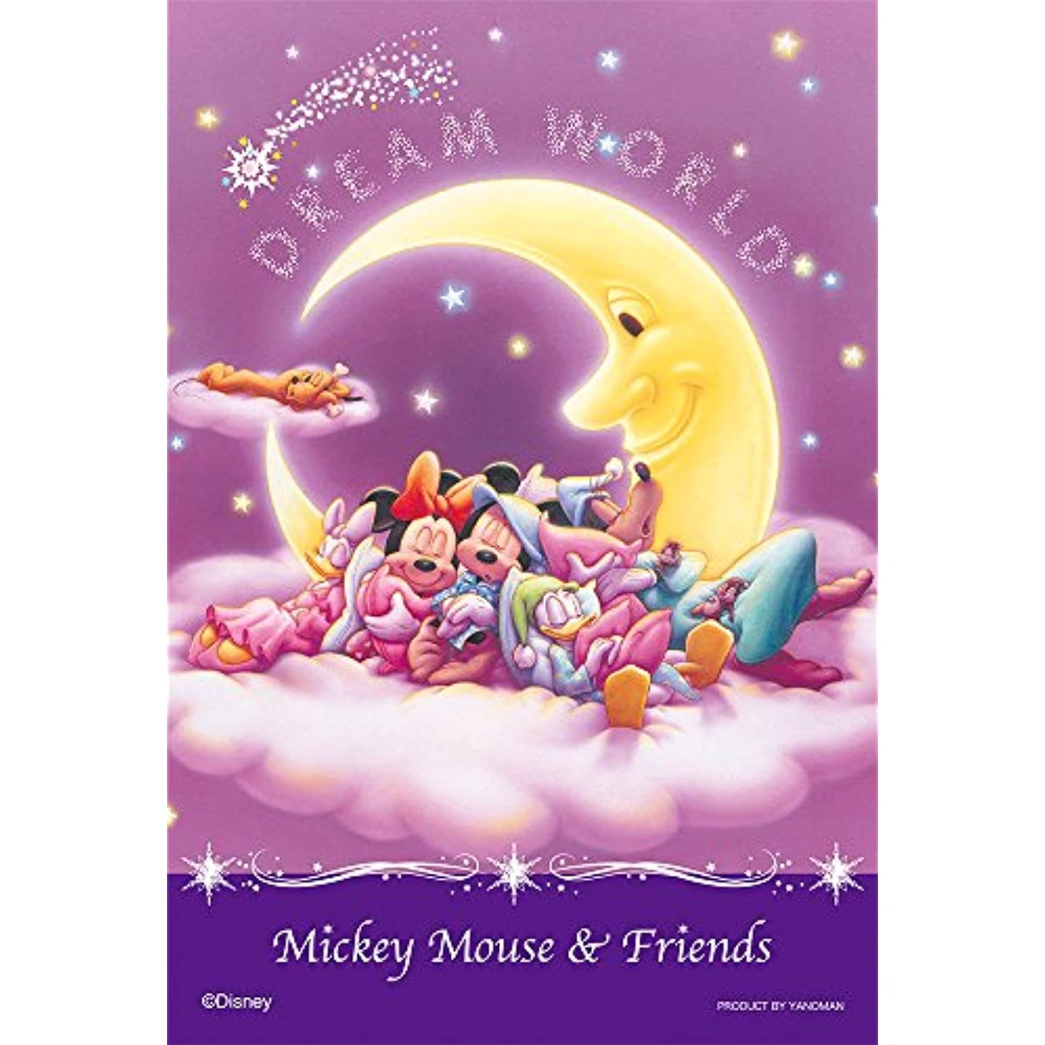 70 70 70 Piece prisme Art Petit Art Series coloré Disney Moonlight Good Night 97-62 b1a294