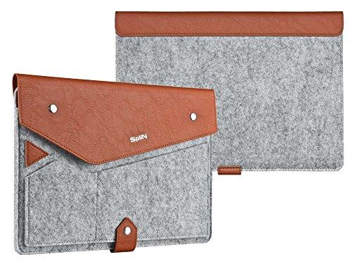Universal Tasche Hülle für 9.7-10.1 Zoll Tablet-PCs Samsung Galaxy Tab S2, A 9.7/ A 10.1, E 9.6, Galaxy Tab 3/ 4, Pro 10.1, Asus ZenPad 10 etc. Schutzhülle Smart Cover Case Sleeve