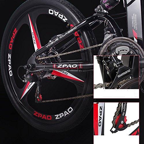 51vZ4Wz QxL. SS500  - GTYW 26 Inch Electric Folding Bicycle Mountain Bike Adult Bike Electric Lithium Adult Folding Electric Mini Motorcycle 90km Battery Life