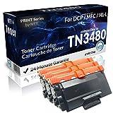 N.T.T.® 3x Kompatibel zu Brother Toner TN3480 für Brother DCP-L 5500 6600 HL-L 5000 5100 5200 6250 6300 6400 MFC-L 5700 5750 6800 6900 Black
