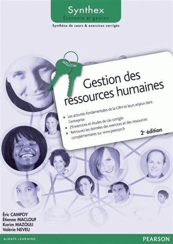 Gestion des ressources humaines 2e édition