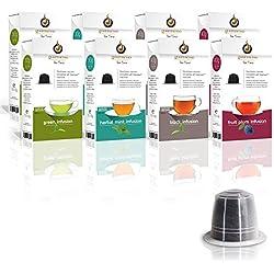 Gourmesso Infusion Bundle (80 Capsules) - Capsules de thé compatibles Nespresso ®*