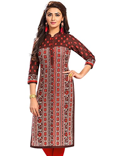 Jevi Prints Women's Cotton Dress Material (Saheli-1516_Free Size_Multi-Coloured)