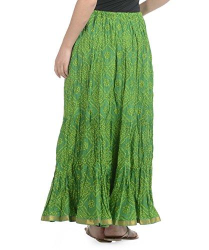 Soundarya - Jupe - Femme Vert - Vert