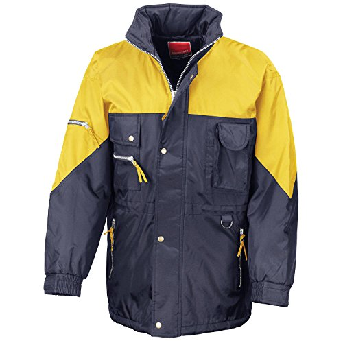Ergebnis Hallo-Active Jacke Navy/Yellow