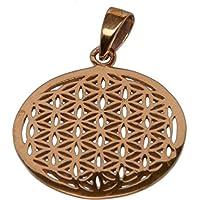 Buddha to Light Bronze ciondolo Rotgold fiore della Vita Flower OF Life prezzo consigliato 35EUR