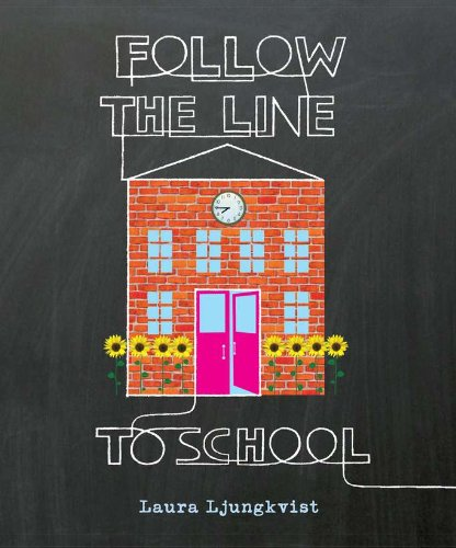 Follow the Line to School..