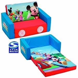 Spinmaster - Mes premiers Fauteuils - Canapé lit en tissu - Canapé-lit Mickey