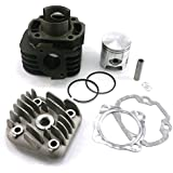 yunshuo 70 cc 2 tiempos Big Bore kit de cilindro 47/10 mm para YAMAHA JOG chino Scooter