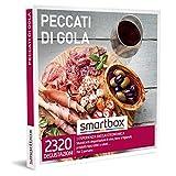 Smartbox - Peccati di gola Cofanetto Regalo Gourmet 1 esperienza enogastronomica per 2 persone