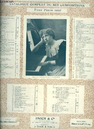 NUIT ETOILEE - POUR PIANO ET VIOLON.