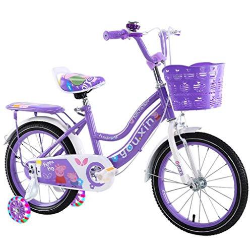 """K-G Bicicleta Infantil Bicicleta De Bicicletas Niños Niñas Infantiles For 3-10 Años De Edad del Niño Bicicleta En Tamaño 12\"""" 14\"""" 16\"""" 18\"""" Pulgadas con El Soporte/Asiento Trasero"""