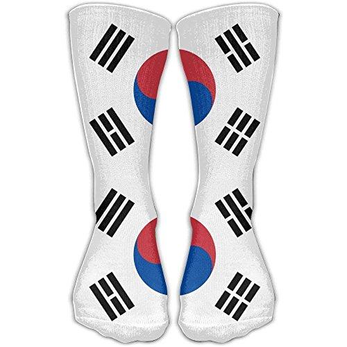 hat pillow Unisex Flag Of South Korea Socks Over The Knee 20-30mmHg Graduated Compression Best For Medical Nursing Casuel Hiking Travel & Flight Beautiful Present -