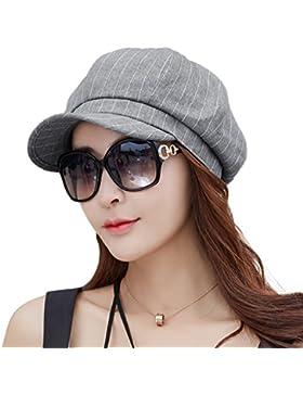 SIGGI Damen Schirmmütze Cabbie Maler Mütze 8-Panel 56-59CM