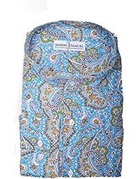 8cb61f05c Formal Grandad Collar Mens Shirt, Plain, Floral, Striped, sizes small to 4XL