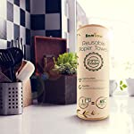 Reusable Paper Towel | Bamboo Eco Kitchen Roll | Multipurpose Eco Cleaning | Strong, Thick and Absorbent | Eco Cloth | Eco Friendly Gifts | Soft on Skin | Quick Dry | 20 Eco Wipes | Bambaw 8