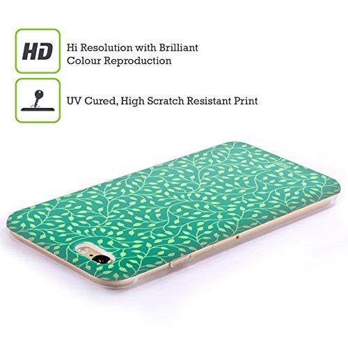 Head Case Designs Bamboo Floreale Lacche Cover Morbida In Gel Per Apple iPhone 7 Plus / 8 Plus Calmante
