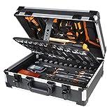 Beta Tools Easy 146-tlg. Werkzeug-Koffer Werkzeugkasten 2056E / E Alu 020560411