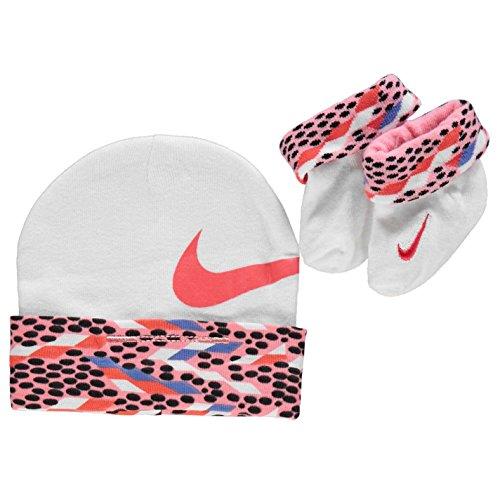 Nike - Conjunto - para bebé niña Rosa Rosa 0-6 Meses