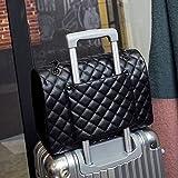 HHdstb Große Umhängetasche Frauen Reisetaschen Pu Gesteppte Tasche Weibliche Handtaschen Frauen Taschen Sac A Main Femme