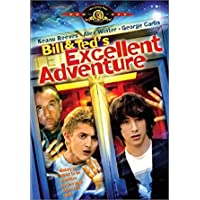 Bill & Ted's Excellent Adventure - DVD REGION 2/COVER IN GREEK LANGUAGE