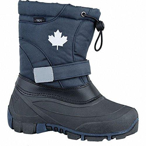 Canadians Unisex-Kinder 467 185 Schneestiefel Blau (Navy)