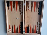 Neu handgemachte Schach, Dame, Backgammon, Holz Schachfiguren, 32x32cm schnitze Schachbrett Box Kasten, Holz Schachspiel, Entwürfe, Lernspiel Junge Mädchen Männer Geschenk
