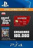 Grand Theft Auto Online | GTA V Red Shark Cash Card | 100,000 GTA-Dollars | PS4 Download Code - österreichisches Konto