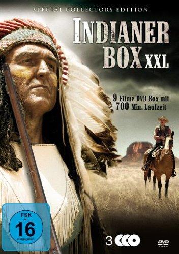 Indianer Box XXL [3 DVDs] Albert King-box