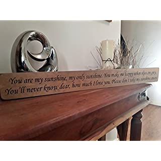 Austin Sloan You are my sunshine, my only sunshine.handmade wood sign by vintage product designer