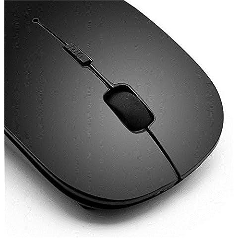 Outstanding® 2.4GHz Wireless Mouse USB Mouse Ottico a Scorrimento per il Computer Portatile 4 Colori
