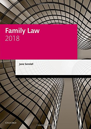Family Law 2018 (Legal Practice Course Manuals)