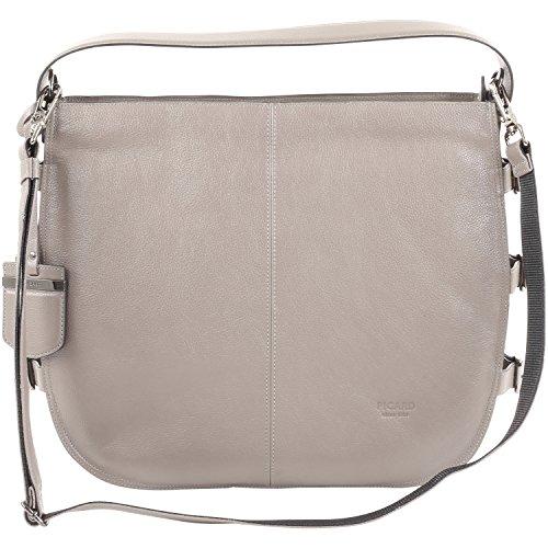 Picard Buggle Damentasche Leder 34 Cm Stone