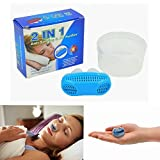 #6: SBE 2 IN 1(Anti Snoring & Air Purifier )Nose Clip Breathe Easy Care Relieve Snoring Air Purifying Respirator Stop Snoring Solution