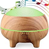 hdvbh Music humidifier stereo Bluetooth aromatherapy machine creative lamp home bedroom dormitory pregnant women baby bedside night light-A-6.5inch*5.12inch