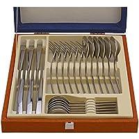Idurgo 18000 Athenas - Set de 24 Cubiertos en Acero Inoxidable 18/10 Stranffor B6