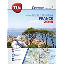 France 2018 - Tourist & Motoring atlas Paperback (Michelin Road Atlases)