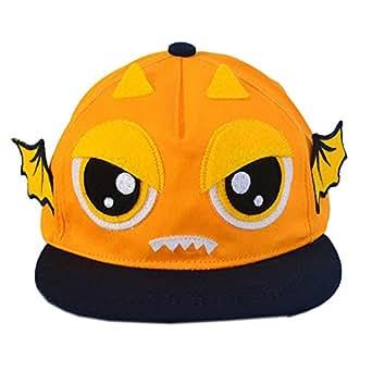 Fashion Casquette pour enfant Orange Demon Casquette plate